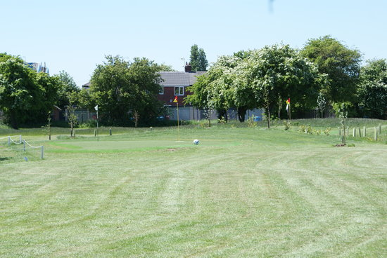 Footgolf Yorkshire: 9th Hole