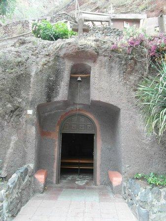 Barranco de Guayadeque : kerk in de rotsen