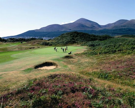 Dufferin Coaching Inn: Royal County Down Golf Course