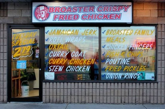 Broaster's Crispy Fried Chicken