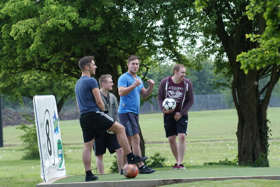 Footgolf Yorkshire: Footgolf Competition May 2013