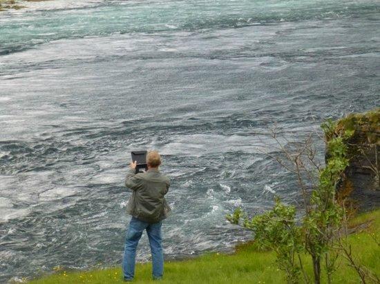 Saltstraumen: Середина прилива