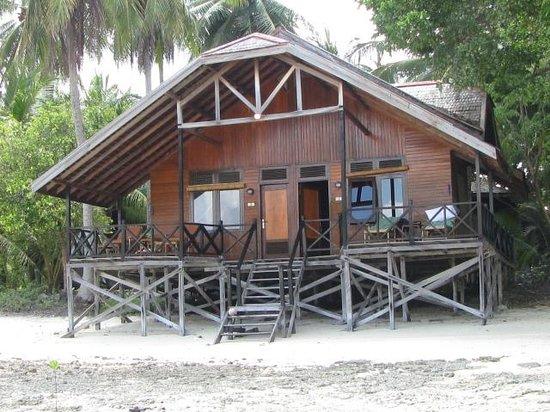 Nabucco Island Resort: Die Liegen auf der Terrasse waren unser Lieblingsplatz!