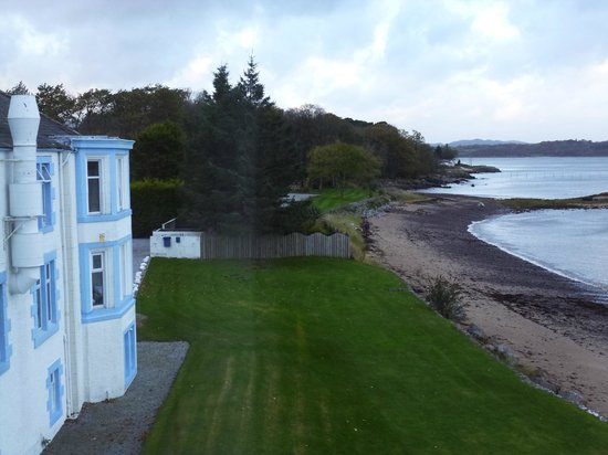 Balcary Bay Country House Hotel: Part view of hotel and grounds