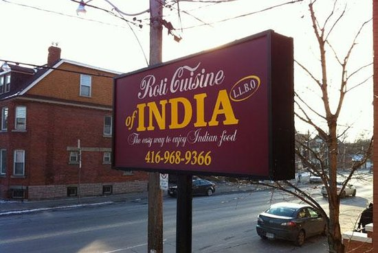 Photo of Indian Restaurant Roti Cuisine of India at 308 Dupont St, Toronto M5R 1V9, Canada