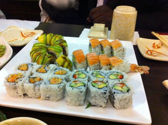 Aji sai barrie 359 bayfield st bayfield restaurant for Aji sai asian cuisine
