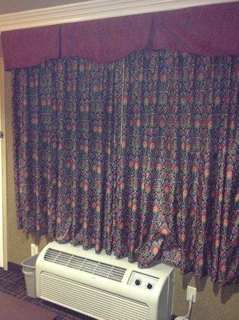 Crystal Inn Suites & Spas - LAX: Curtains