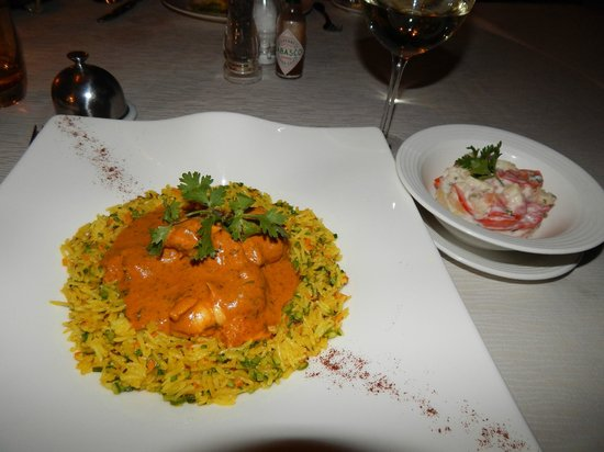 Ocean Beach Resort & Spa : Lobster biryani- another favorite!