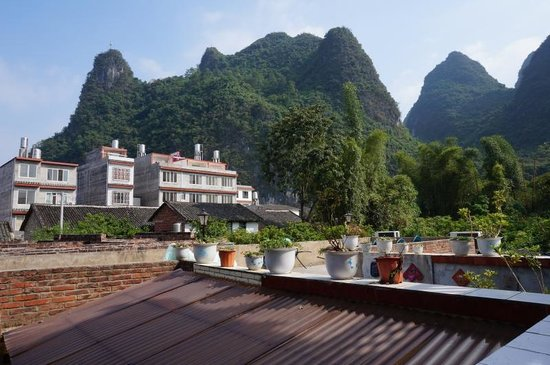 Xingping Our Inn: View from roof terrace