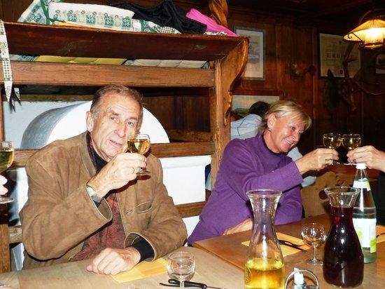 Landgasthof zum Hirschen: Sigmar und Ingeborg