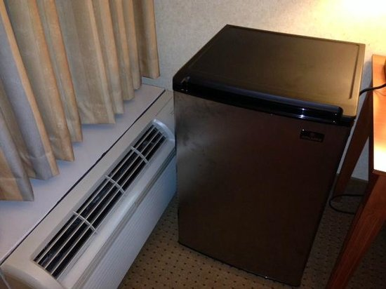 DoubleTree by Hilton Chicago - Arlington Heights: Stained fridge