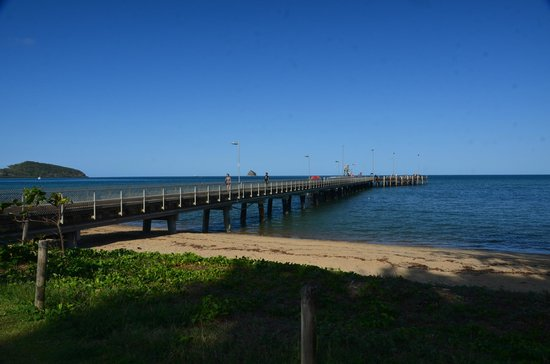 Palm Cove Beach : Yes another Pier at Palm Cove from where boat tours leave from