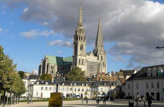 Tour de la Cathédrale de Chartres : シャルトル大聖堂1