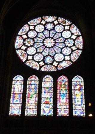 Tour de la Cathédrale de Chartres : シャルトルブルー