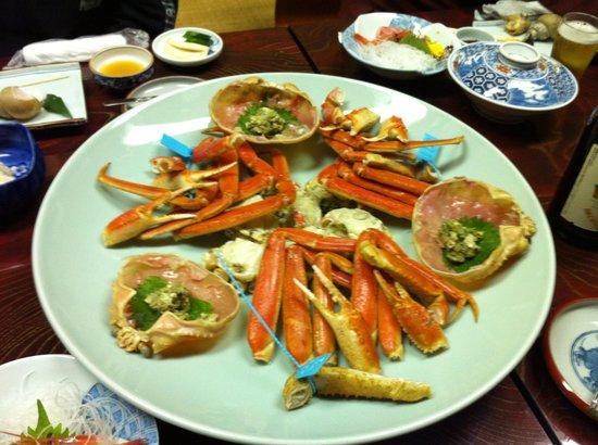 Nakayasu Ryokan: 蟹