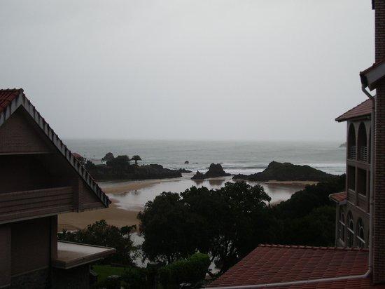 Hotel Olimpo : vistas desde el balcon