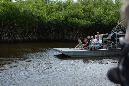 Everglades City Airboat Tours: Mangrove canals