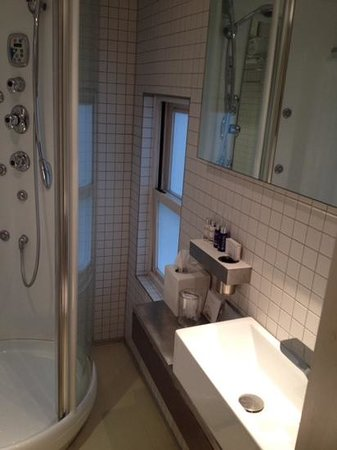 Nottingham Place Hotel London Marylebone : baño