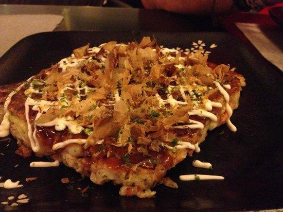 Kakure Sushibar : okonomiyaki