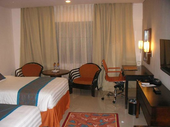 Grand Sahid Jaya Hotel : 部屋