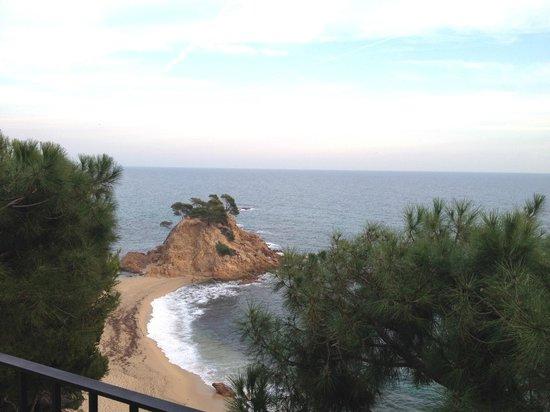 Silken Park Hotel San Jorge : Vue de la chambre