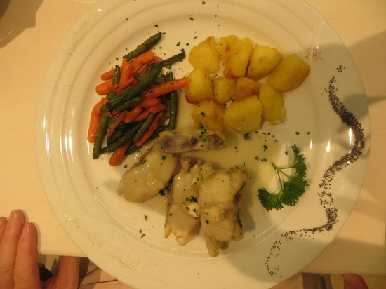 Rex Hotel: Delicious fish dish