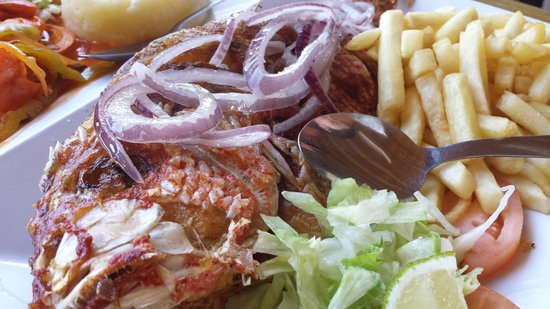 Mi Casita Seafood: Fried Red Snapper