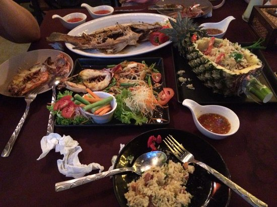 Sabai Ba Bar : Great food!