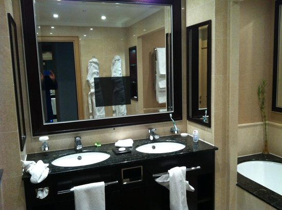Kempinski Hotel Adriatic Istria Croatia: A fabulous bathroom