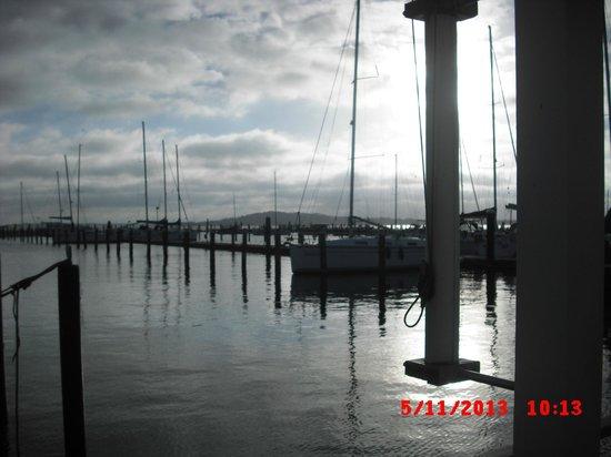 Im-Jaich Wasserferienwelt: Bild von der Terasse