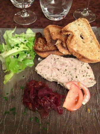 Le Relais de Montigny : Terrine de faisan