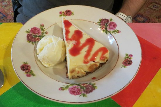 Paul's place : lemon cheesecake