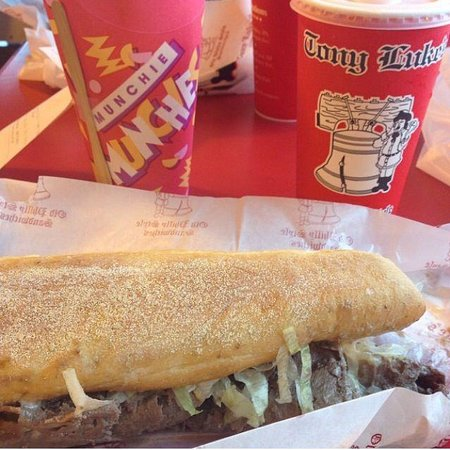 Tony Luke's Old Philly Style Sandwiches: Philly steak!