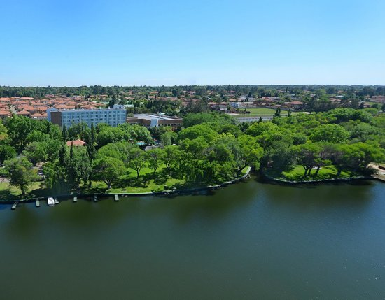 Vanderbijlpark, Sydafrika: Riverside Sun Resort on the Vaal river
