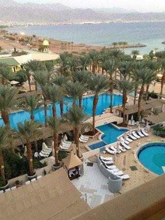 Herods Vitalis Spa Hotel Eilat : View from room