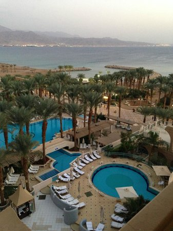 Herods Vitalis Spa Hotel Eilat : View from room