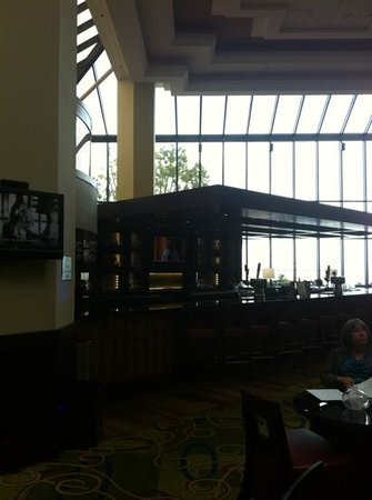 San Francisco Airport Marriott Waterfront : bar area