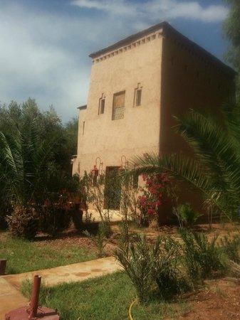 Kasbah Tiwaline: Nuestra Suite desde el jardín