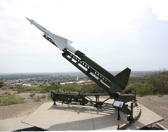 New Mexico Museum of Space History: Nike Ajax missle