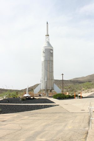 New Mexico Museum of Space History: Little Joe Rocket