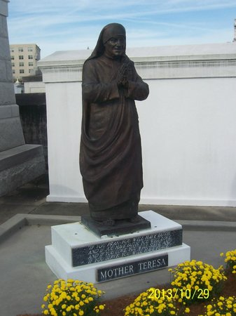 Dixie Tours New Orleans: Mother Teresa