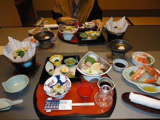 Tamai Bekkan: 夕食