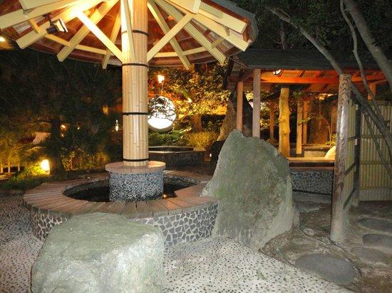 Tamai Bekkan: 5種類の足湯