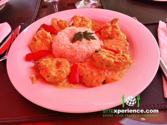 Esplanada Grill: Curry Prawns