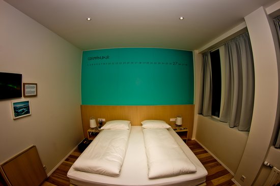 Reykjavik Lights by Keahotels: View of Bed