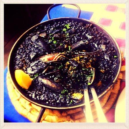 Restaurante Sukaldary : Arroz Negro