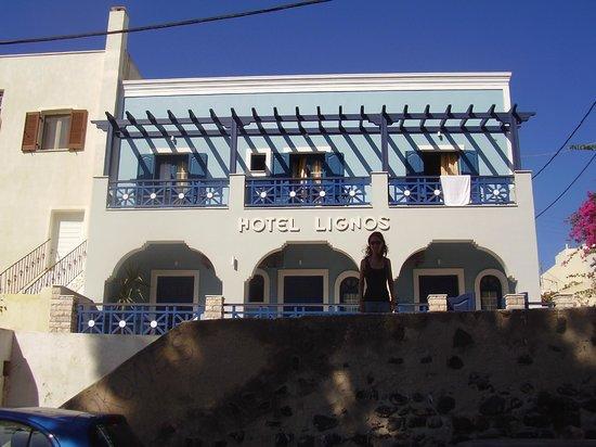 Hotel Lignos: Hotel de segunda categira.. ou pior.