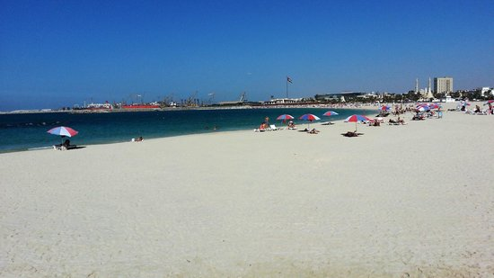 Jood Palace Hotel Dubai: Spiaggia libera di Jumeirah