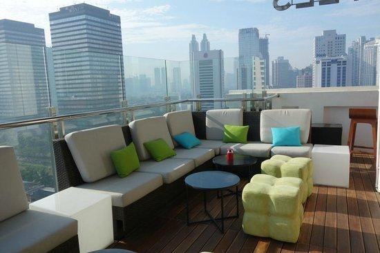 City View On Roof Top Bar Picture Of All Seasons Jakarta Thamrin Jakarta Tripadvisor