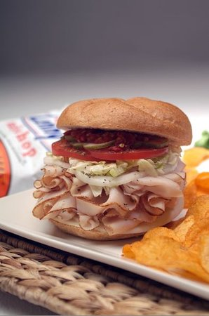 Lenny's Sub Shop: Mile High Turkey